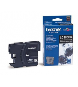 Ink Brother LC-980BK Black - 300Pgs 6ml