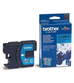 Ink Brother LC-980C Cyan - 260Pgs 5.5ml