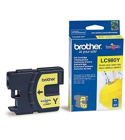 Ink Brother LC-980Y Yellow - 260Pgs 5.5ml