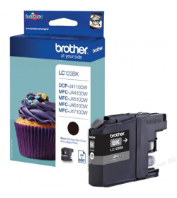 Ink Brother LC-123BK Black - 0,6k