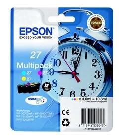 Ink Epson 27 C13T270540 3Colors (C-M-Y) 10.8ml