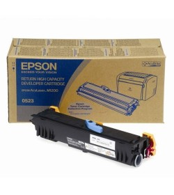 Developer Laser Epson C13S050523 High Capacity Black - 1.8K Pgs