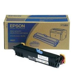 Developer Laser Epson C13S050521 High Capacity Black - 3.2K Pgs