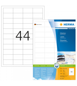 Labels Herma Laser LP 48.3 x 25.4mm - 4400Τ 100 Shts