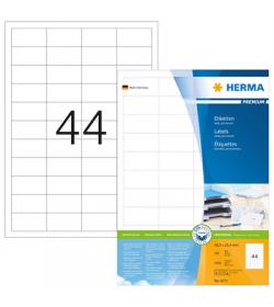 Labels Herma Laser LP 48.3 x 25.4mm - 4400Τ 100 Shts