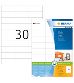 Labels Herma Laser LP 70 x 29.7mm - 3000Τ - 100Shts