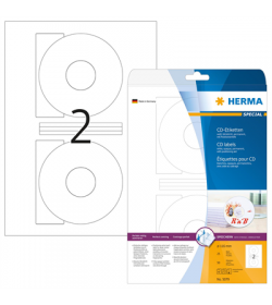 Labels Herma CD-DVD 25 Shts - 50T