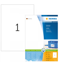 Labels Herma Copier CP 210 x 297mm - 100Τ 100 Shts
