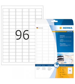 Labels Herma Inkjet IP 30.5 x 16.9mm - 2400Τ - 25Shts