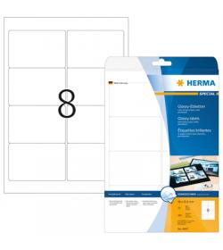 Labels Herma 96x63,05 Gloss Laser - Copy 200pcs - 25Sheets 4907