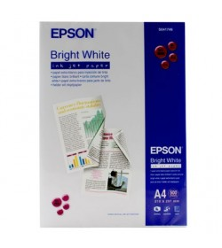 Bright White Inkjet Paper Epson A4 500Shts 90g (DoubleSided)