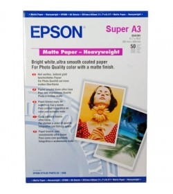 Heavyweight Paper Epson Matt A3+ 50Shts 167g