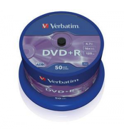 DVD+R 16X 120-4.7G Spindle 50T