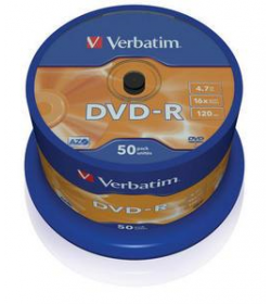 DVD-R 16X 120-4.7G Spindle 50T