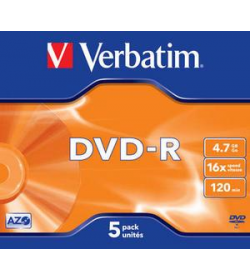 DVD-R 16X 120-4.7G Jewel 5T