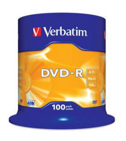 DVD-R 16X 120-4.7G Spindle 100T Matt Silver