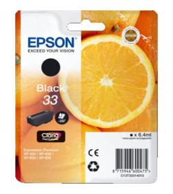 Ink Epson 33 C13T333140 Black - 6.4ml