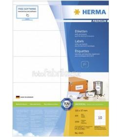 Ετικετες Herma Copier CP 105 x 57mm - 1000Τ 100 Shts