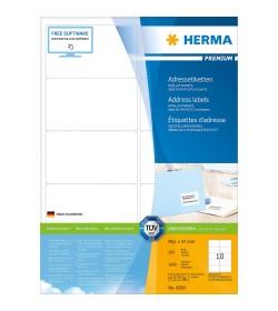 Ετικετες Herma Laser LP 99.1 x 57.0mm - 1000Τ - 100Φύλλα