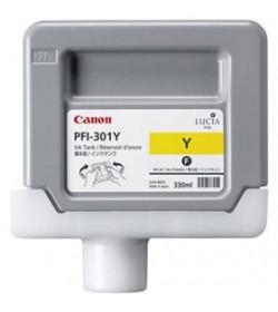 Ink Canon PFI-301Y Yellow 1489B001 330ml