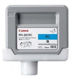 Ink Canon PFI-301PC Photo Cyan 1490B001 330ml