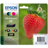 Ink Epson 29 C13T298640 Claria Home Multipack