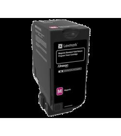 Toner Laser Lexmark 74C2SM0 Magenta -7k Pgs