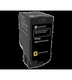 Toner Laser Lexmark 74C2SY0 Yellow -7k Pgs