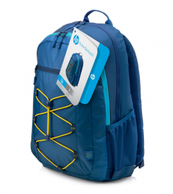 HP Active Blue-Yellow Backpack 15.6