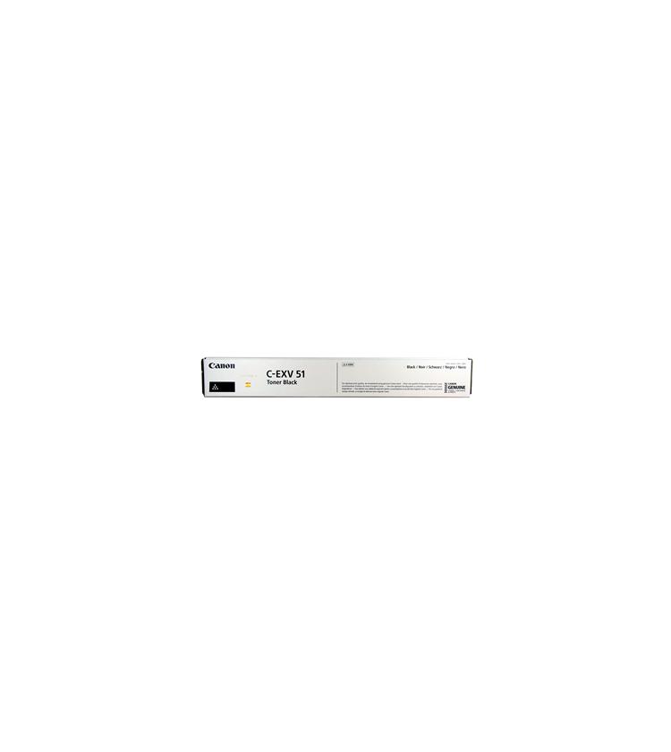 Toner Copier Canon C-EXV51B Black -69K Pgs 0481C002