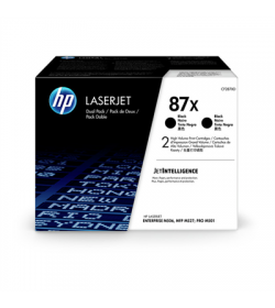 Toner HP CF287XD Black 2 - Pack HC 18K CF287XD