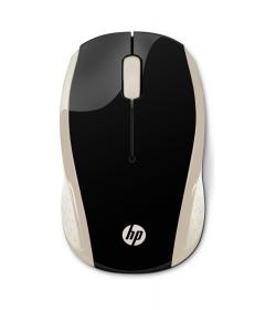 Mouse HP 200 Silk Gold Wireless 2HU83AA