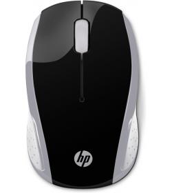 Mouse HP 200 Pk Silver Wireless  2HU84AA