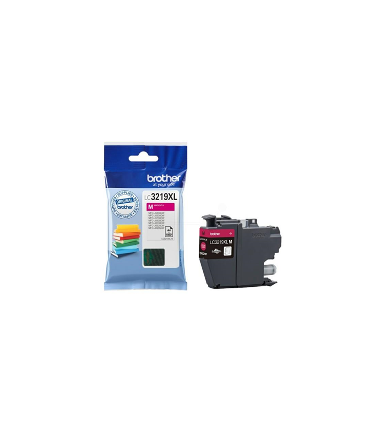 Ink Brother LC-3219XLM Magenta HC - 1,5k