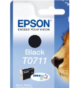 Ink Epson T0712 C13T07124020 Ultra Cyan - 5,5ml - 485Pgs