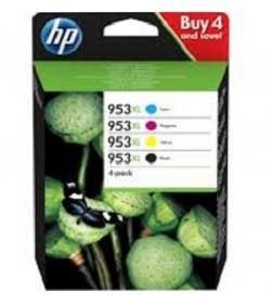 HP 953XL INK 4-PACK CMYK ( 3HZ52AE )