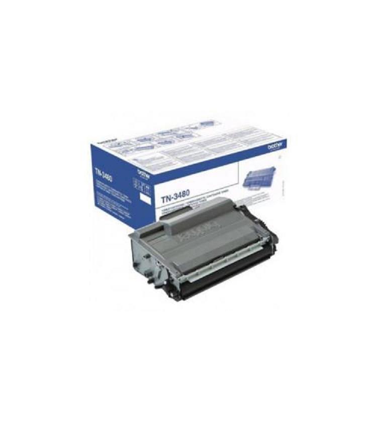 Toner Laser Brother TN-3480 SC Black - 8K Pgs