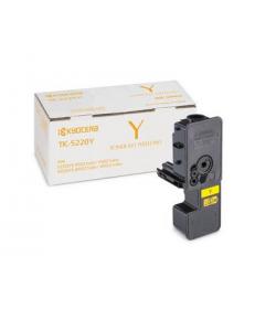 Toner Laser Kyocera Mita TK-5220Y Yellow SC - 1,2K Pgs
