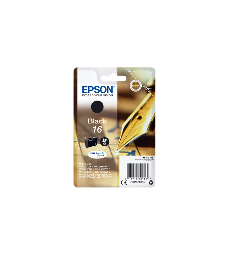 Ink Epson T162140 Black with pigment ink
