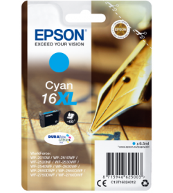 Ink Epson T163240 XL Cyan with pigment ink