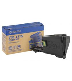 Toner Laser Kyocera Mita TK-1115 Black 1.6k Pgs