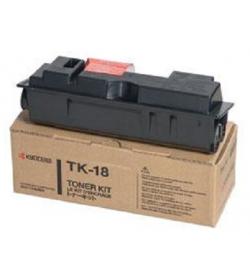 Toner Laser Kyocera Mita TK-18 Black - 7.2K Pgs
