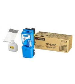 Toner Cyan Laser Kyocera TK820C - 7K Pgs