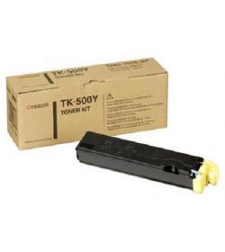 Toner Yellow Laser Kyocera TK500Y 8k