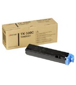 Toner Cyan Laser Kyocera TK500C 8k