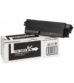 Toner Laser Kyocera Mita TK-580K Black - 3.5K Pgs