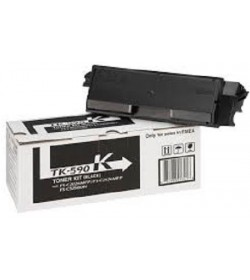 Toner Laser Kyocera Mita TK-590K Black - 7.5K Pgs