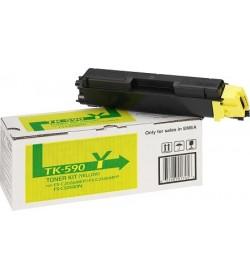 Toner Laser Kyocera Mita TK-590Y Yellow - 5K Pgs
