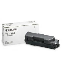 Toner Laser Kyocera TK-1160 Black - 7.2K Pgs