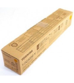 Toner Laser Printer Toshiba Estudio TFC-505E Yellow 33,6k pages